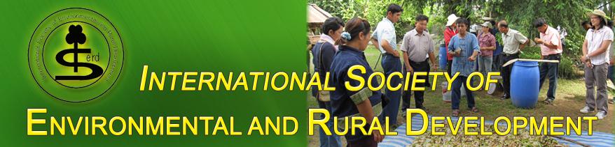 International Society of Environmental and Rural Development